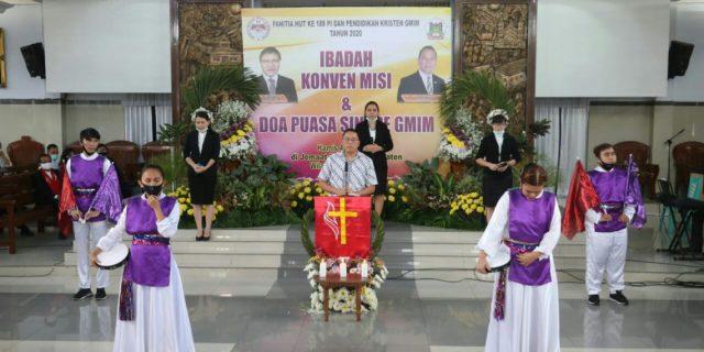 Walikota Tomohon Buka Rangkaian Kegiatan HUT PI dan GMIM Bersinode