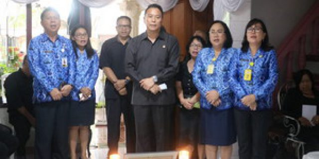 Walikota Eman Hibur Keluarga Alm Hendrik Undap