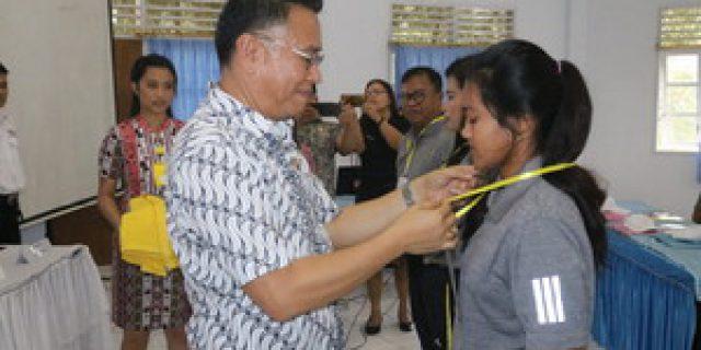 Walikota Tomohon Buka Pelatihan Bela Negara