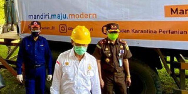 """Ketahanan Pangan Ditengah Covid-19, Walikota : Pesan Pak Menteri, Ayo Manado Jadi Pilot Project """" Family Farming"""""""