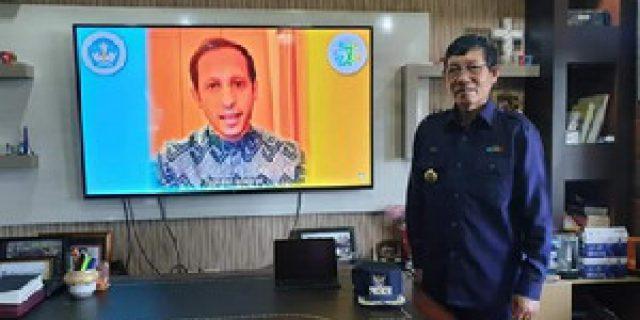 Walikota GSVL Ikuti Hardiknas Lewat Live Streaming Kemendikbud