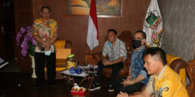 Walikota Eman Ikuti Rakor Dengan Menteri Dari Kediaman