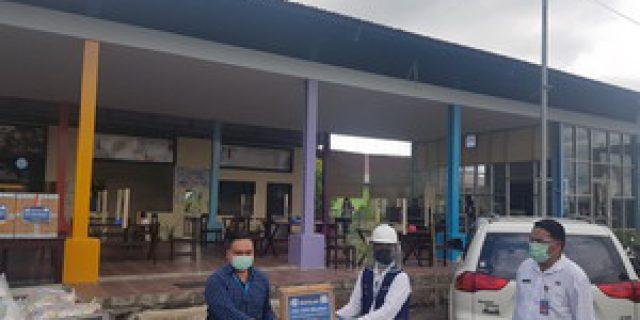 Walikota GSVL Didampingi Kepala DPMPTSP, Terima Bantuan dari Dari Indomaret