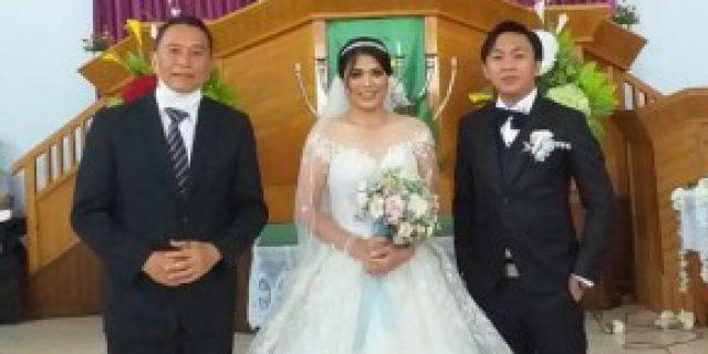 Walikota Eman Jadi Saksi Pernikahan Michael dan Angle