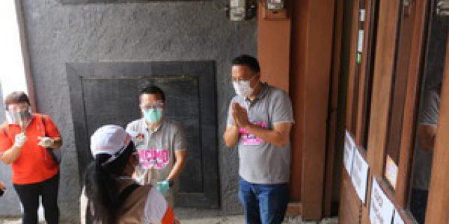 PPDP Kelurahan Coklit Pemilih Di Rumah Walikota Tomohon
