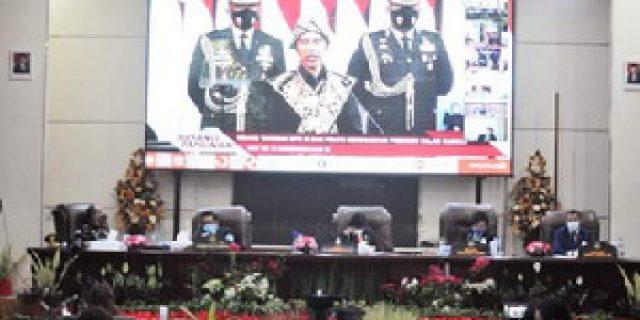 Walikota Hadiri Rapat Paripurna Virtual Dengarkan Pidato Presiden