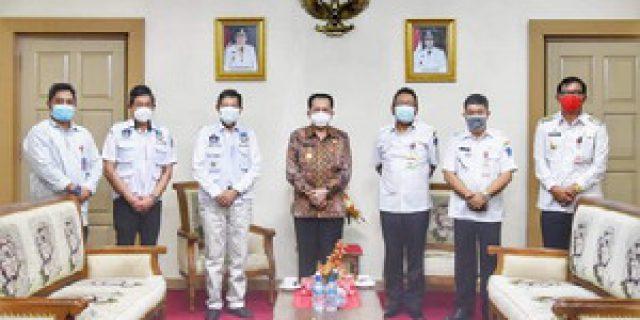 Walikota Laporkan Kondisi Persiapan Pilkada di Tengah Pandemi Covid-19 Kepada Pjs Gubernur Sulut
