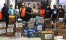 Aksi Simpatik Sulut United, Bantu Korban Banjir dan Longsor