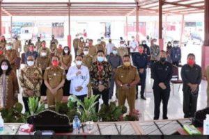 Kunjungi Minahasa, KPK Gelar FGD Pemulihan dan Penertiban Aset Terkait Danau Tondano