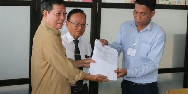 Walikota GSVL Buka Naskah USBN Tingkat SMP