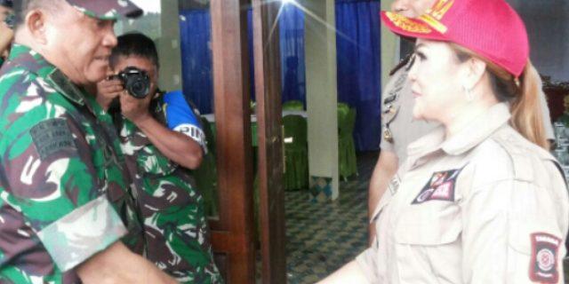 Kesiapsiagaan Bencana, SAS Dampingi Asops Panglima TN