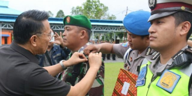 Walikota Eman Pimpin Apel Operasi Keselamatan 2018