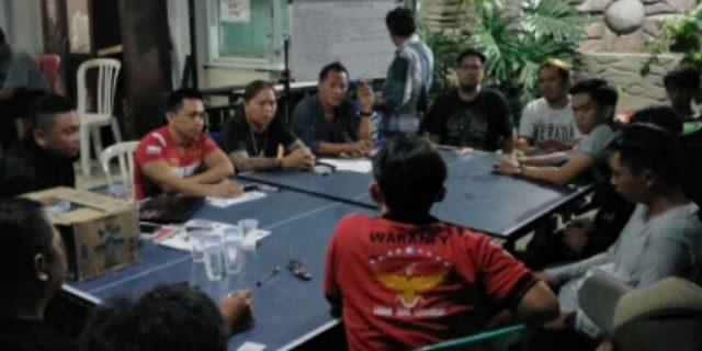 Jelang Pelantikan Pengurus se-Kecamatan, PABN Waraney Tanah Toar Lumimuut Rapatkan Barisan