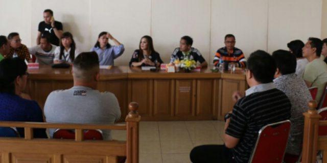 SAS Pimpin Rapat Pemantapan Kejurnas Tinju Amatir Walikota Cup 2018