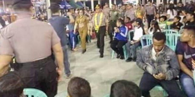 SAS Dampingi Kapolda Sulut di Kejurnas Tinju Amatir Walikota Cup 2018