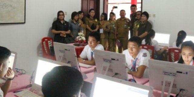 Karwur: 100 Persen Kota Tomohon UNBK