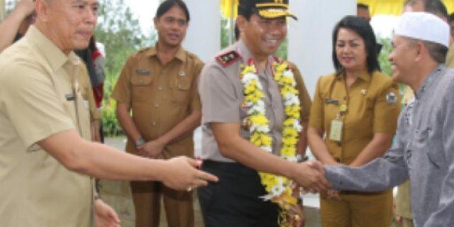 Walikota Eman Sambut Kunker Kapolda Sulut di Tomohon