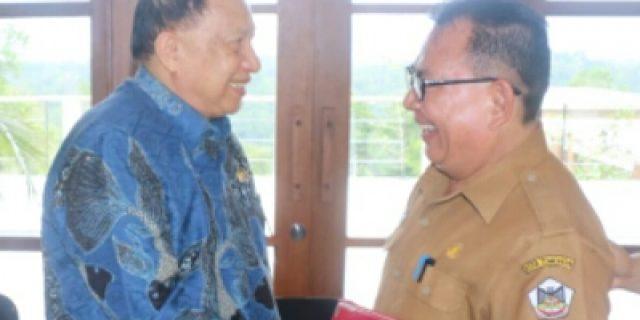 Kunker DPR RI Komisi II SOAL PTSL di Kota Tomohon