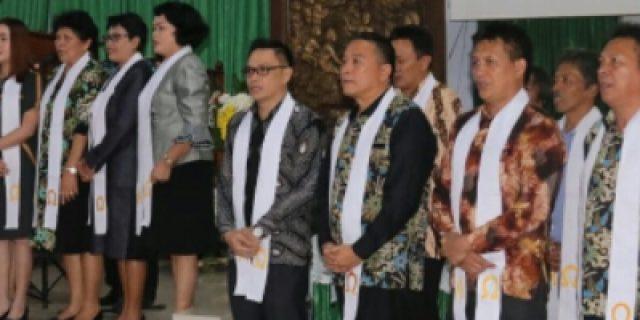 Pemkot dan Masyarakat Tomohon Gelar Kebaktian Penyegaran Iman