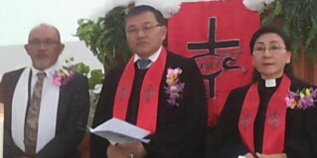 Sukacita di Hut ke-7 Jemaat Eben Haezar Winangun
