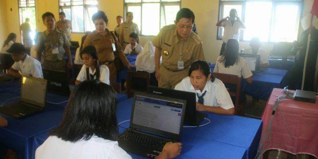 Walikota Apresiasi Pelaksanaan UNBK di daerah Kepulauan