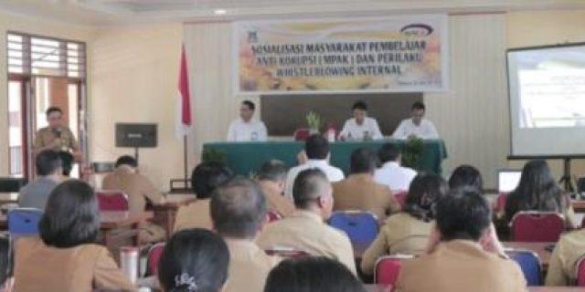 BPKP-Inspektorat Sosialisasi Pencegahan Tipikor di Tomohon
