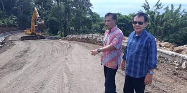 Kadis PUPR Manado Tinjau Progres Akses Jalan Wisata GT