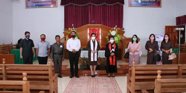 Wawali SAS Hadiri Pisah sambut Pendeta di Jemaat GMIM Bukit Zaitun