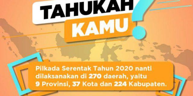 84 Hari Lagi Menuju Pilkada Serentak 9 Desember 2020