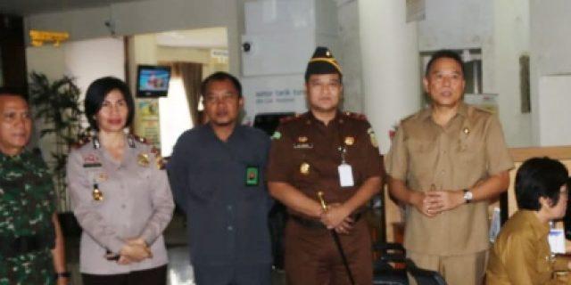 Walikota Eman Dampingi Forkopimda Kunjungi MPP Tomohon
