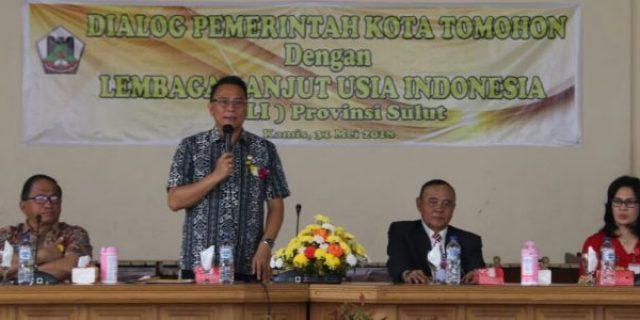 Gelar Dialog, Walikota Eman Apresiasi LLI Sulut