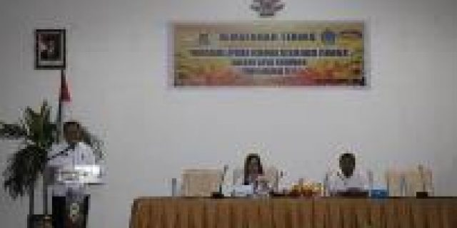 Wawali SAS Buka Bimtek PLK 2019