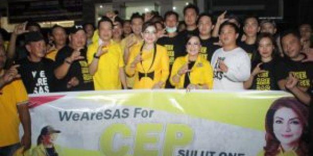Komitmen SAS Terus Mendukung CEP di Calon Gubernur Sulut