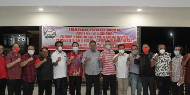 Pemkot Tomohon Tuan Rumah Penutupan Rakernas PKB PGI
