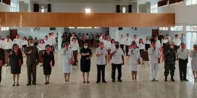 Bupati Dan Wakil Bupati Minahasa Lantik 36 Pejabat Di Jajaran Pemkab Minahasa