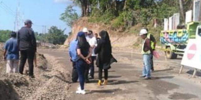 Bassed On RPJMD, PUPR Manado Hotmix Asphalt Jl. Tololiu-Supit