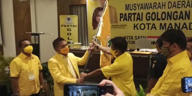 Tak Tunjukkan SK Plt, Musda Golkar Manado Inprosedural