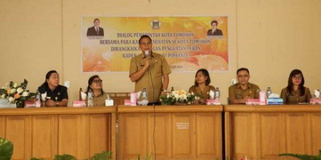 Walikota Eman Gelar Penguatan Kader Kesehatan di Posyandu