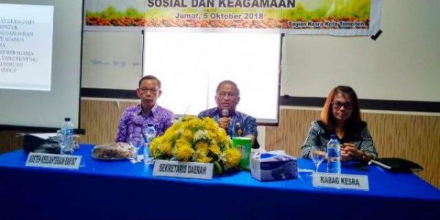 Sekkot Lolowang Buka Rapat Tugas di Bidang Sosial dan Keagamaan