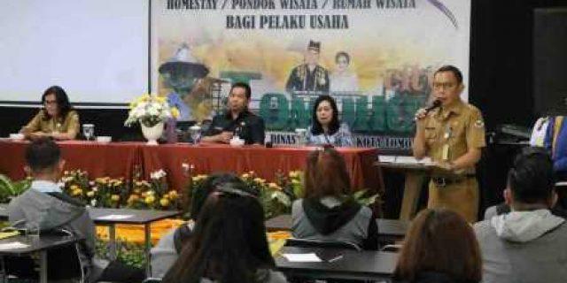Dispar Tomohon Tingkatkan Kualitas SDM Jasa Pariwisata