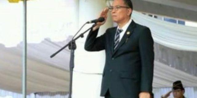 Gelar Apel Kerja, Walikota Eman Bacakan Himbauan Menteri