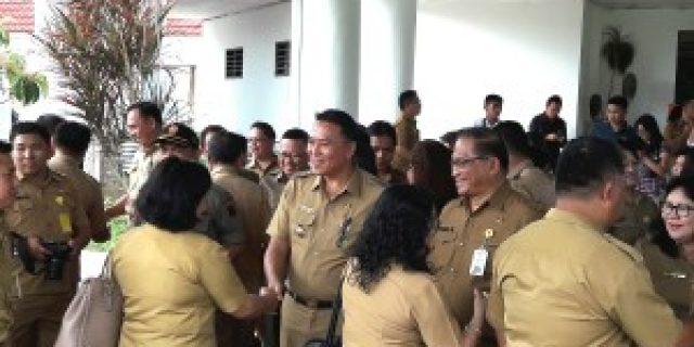 Pimpin Apel Perdana walikota Eman Tegaskan 2018 Tahun Kerja