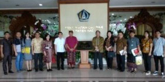 Pemkot Tomohon ke Bali Studi Komparasi Bidang Keuangan
