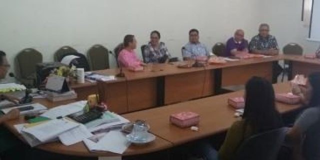 Bapelitbang Tomohon Rapat Soal Surveyor Data Pengangguran