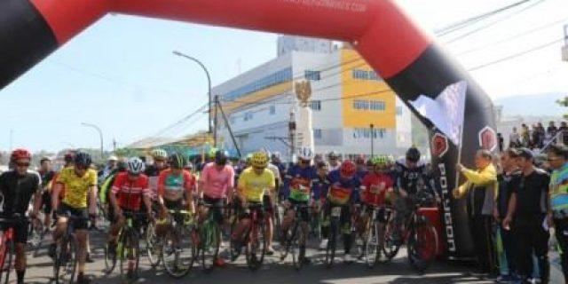 Sekkot Lolowang Buka Fun Bike dan Tomohon Run