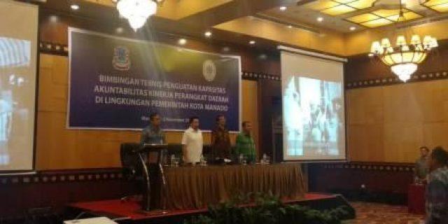 Dinas PUPR Manado Mengikuti Bimtek Penguatan Kapasitas Akuntabilitas Kinerja