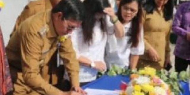 Penandatanganan Perjanjian Bersama Untuk Pembiayaan RSUD Kota Manado