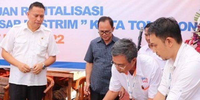 BRI Sumbang Rp285,8 Juta Tata Pasar Tomohon