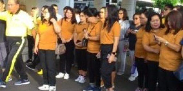 HUT DWP, Pemkot Tomohon Gelar Jalan Sehat