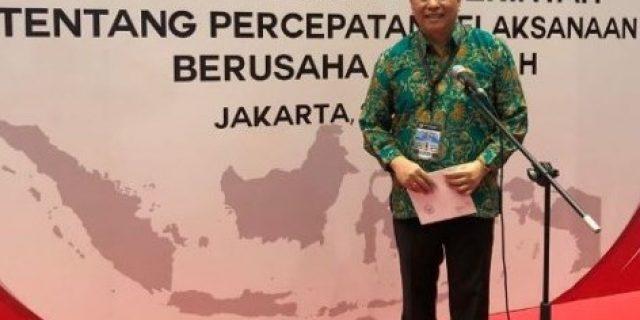 Walikota Tomohon Hadiri Rapat Kerja Pemerintah Tahun 2018